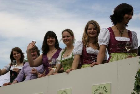Foto: Weinköniginnen