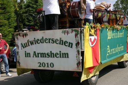 Foto: Auf Wiedersehen in Armsheim 2010