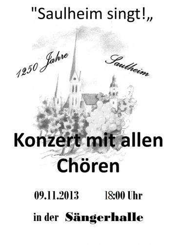 09.11.2013 Konzert Sängerhalle