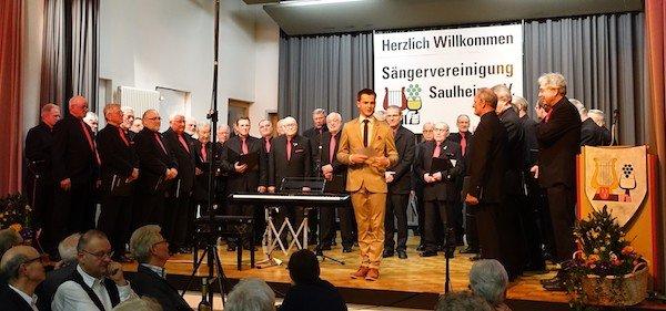 Frühlingskonzert der Sängervereinigung Saulheim am 18.3.2017
