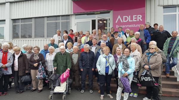 Seniorenausflug der AWO und der Ortsgemeinde