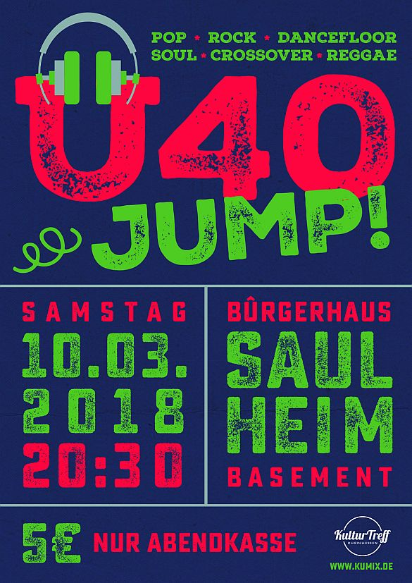 Ü40-JUMP ! @ Bürgerhaus - Clubsaal