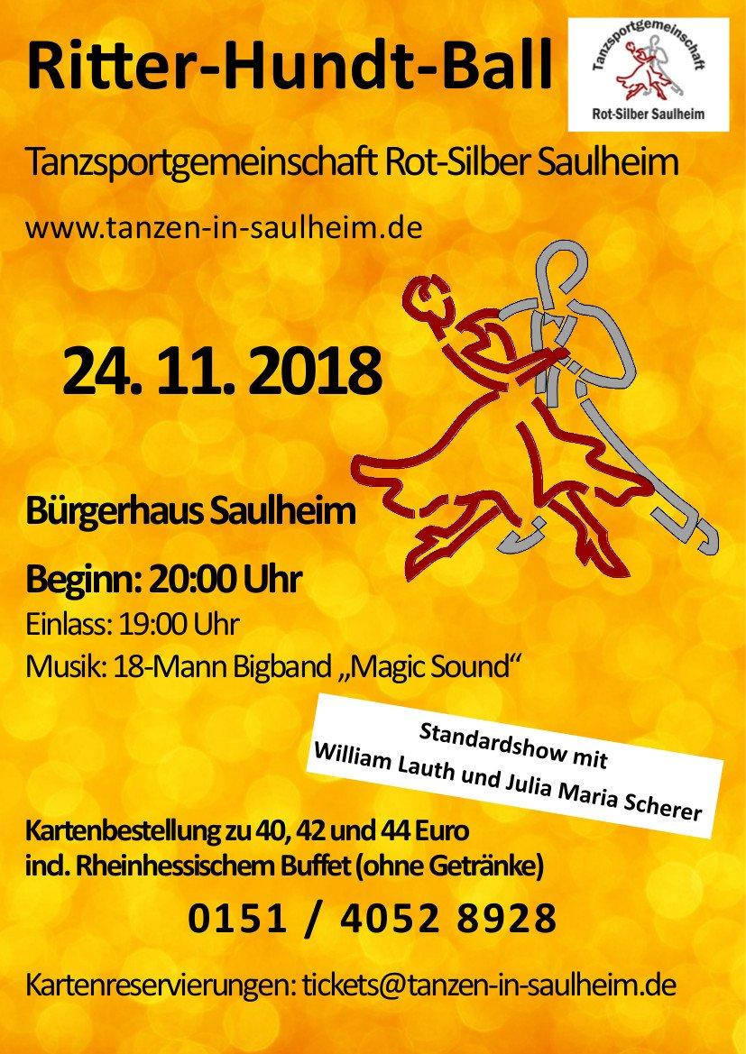 Ritter-Hundt-Ball @ Bürgerhaus