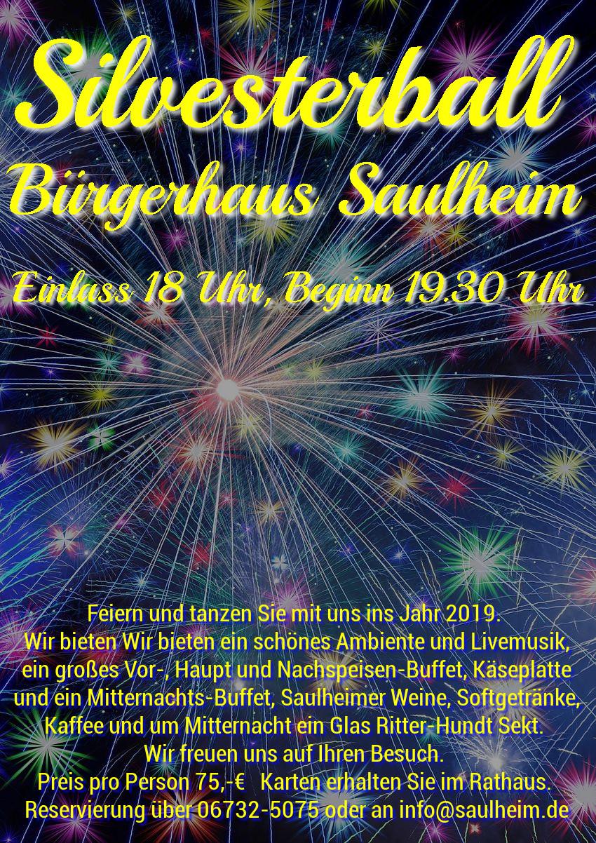 Silvesterball @ Bürgerhaus