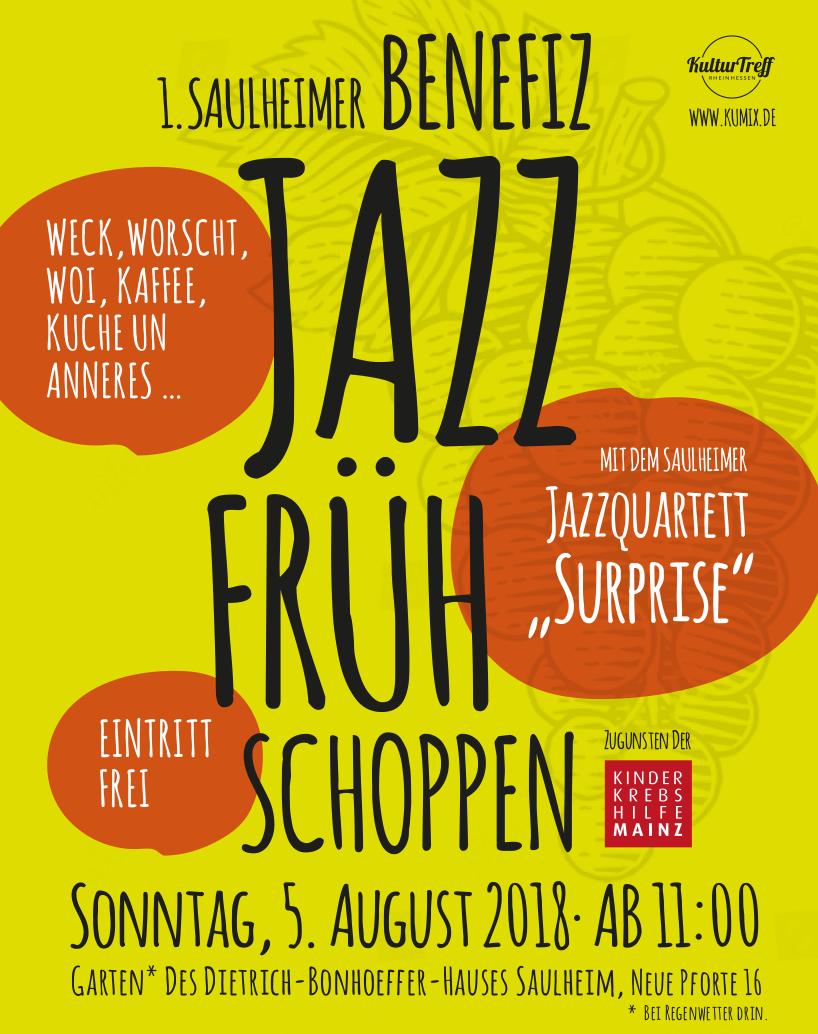 Jazz-Frühschoppen @ im Garten vom Dietrich-Bonhoeffer-Haus