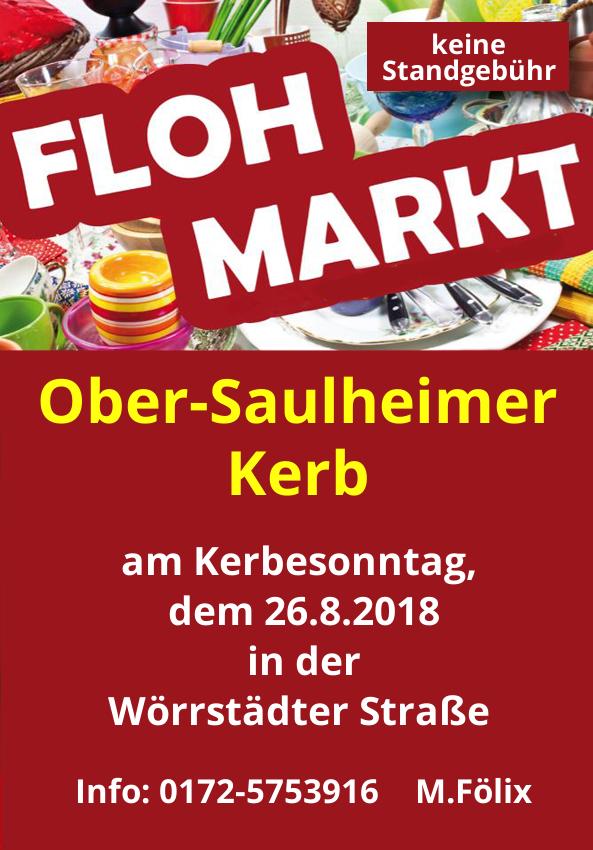 Flohmarkt @ Wörrstädter Straße, Ober-Saulheim