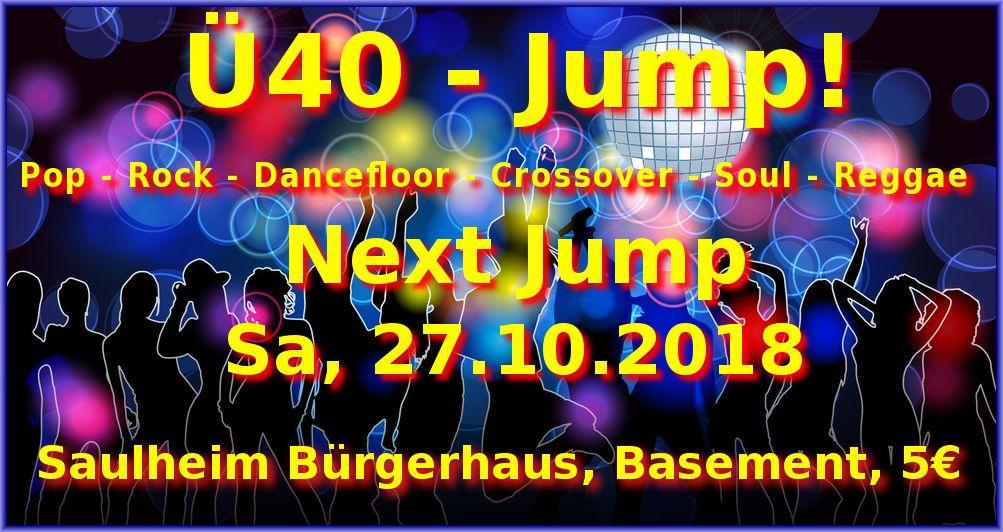 Ü40 - JUMP! @ Bürgerhaus - Basement
