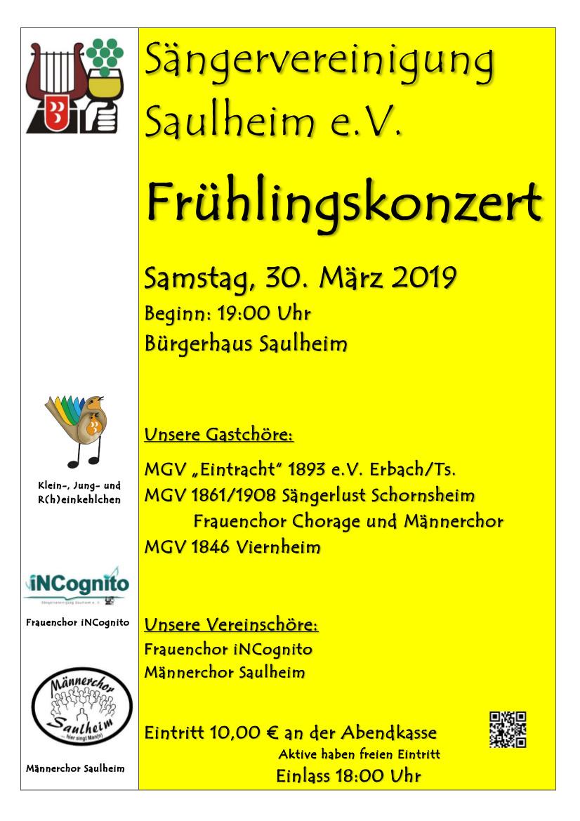 Frühlingskonzert @ Bürgerhaus