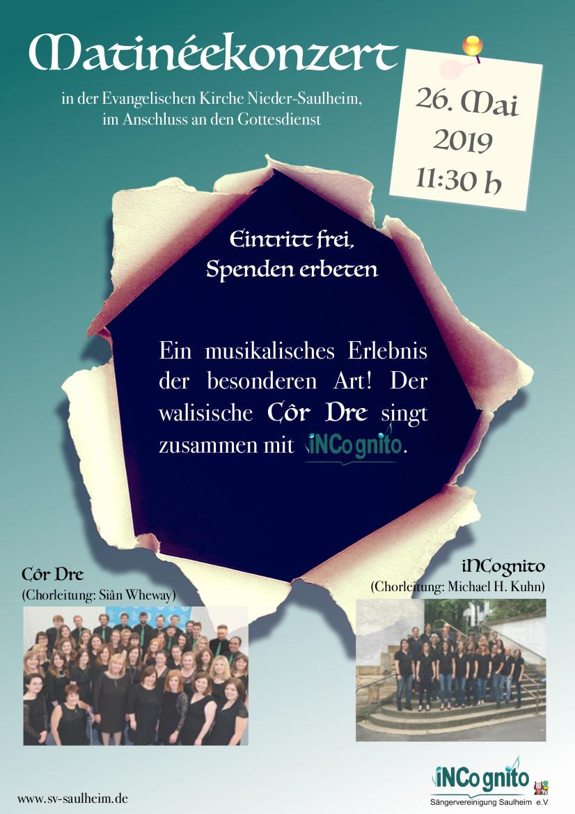 Matinee-Konzert @ Ev.Kirche Nieder-Saulheim