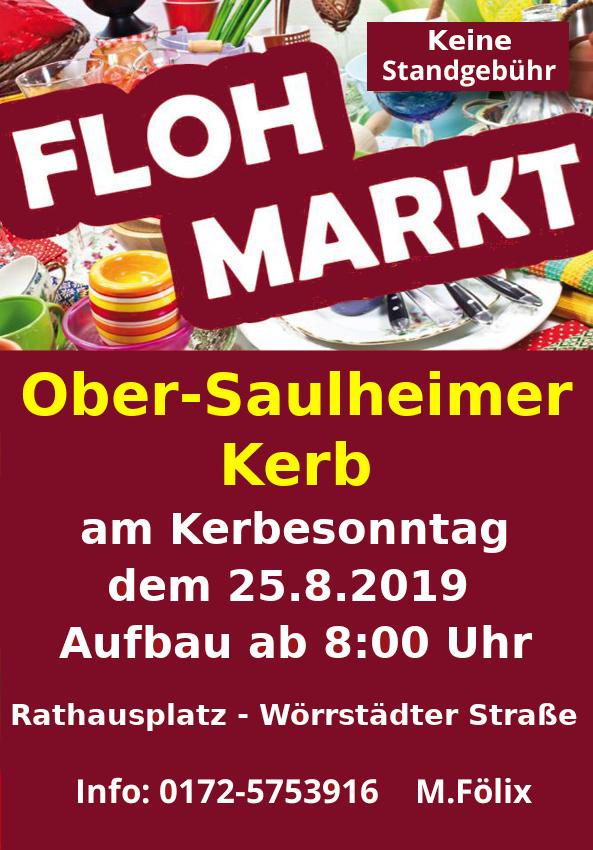 Ober-Saulheimer Kerb - Flohmarkt