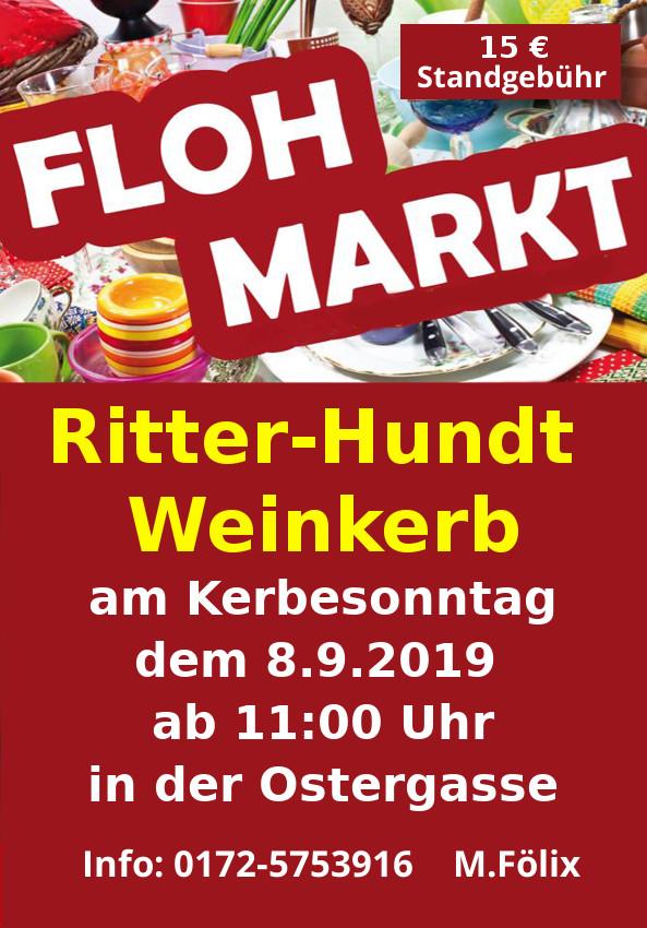 Ritter-Hundt Weinkerb - Flohmarkt
