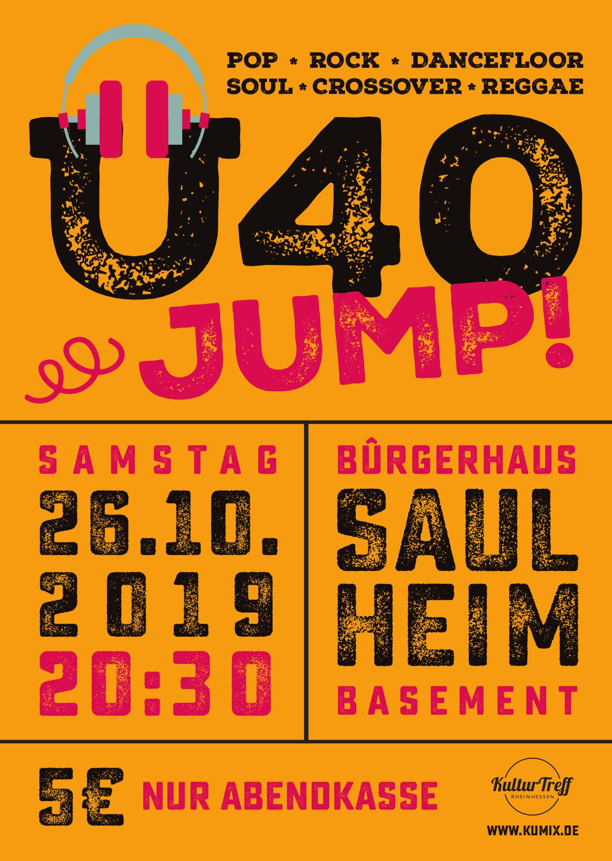 Ü40-JUMP! @ Bürgerhaus
