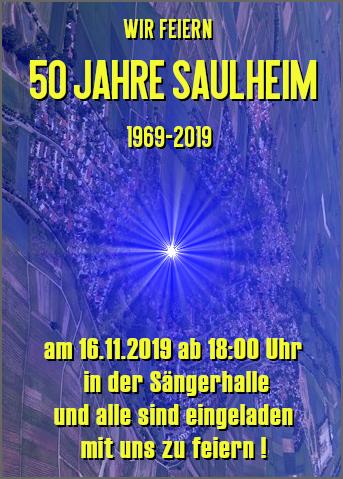 Saulheim feiert 50 Jahre Saulheim @ Sängerhalle