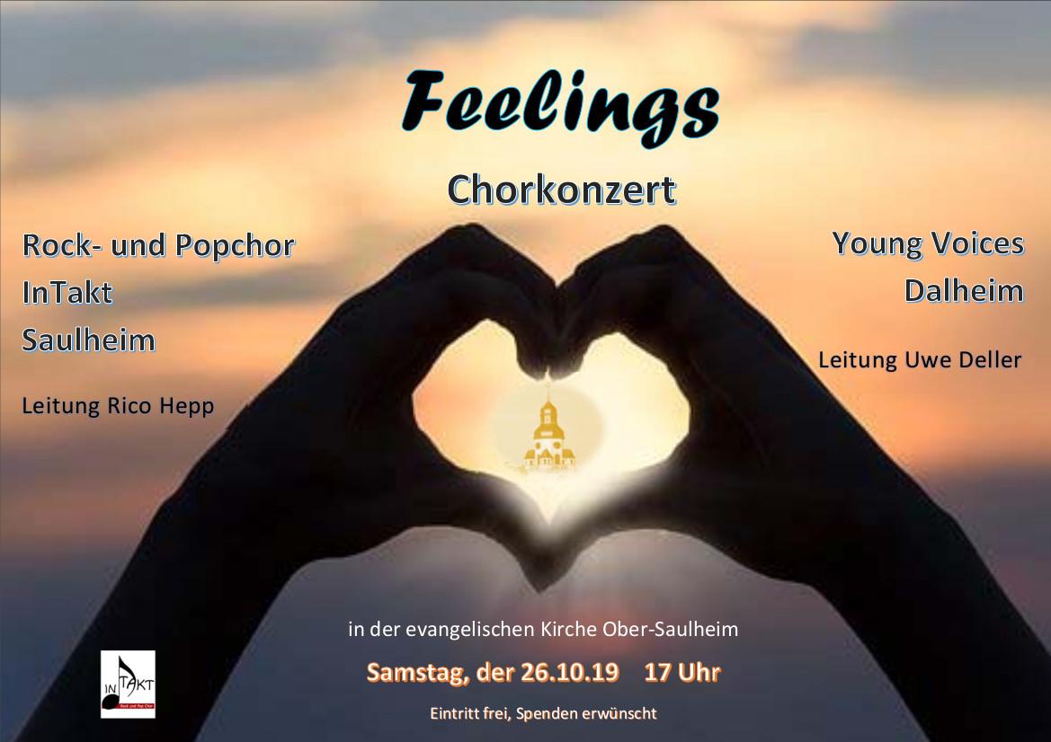 Chorkonzert InTakt @ Ev.Kirche Ober-Saulheim