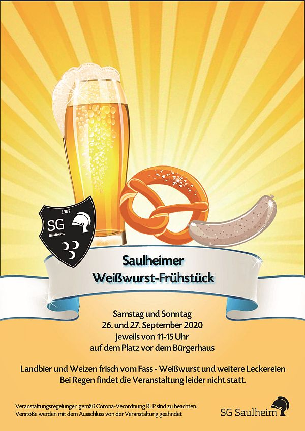 Saulheimer Weißwurst-Frühstück